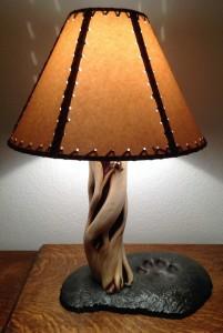 Juniper Lamp