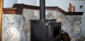 Mantel-Stove-Rock Work -WS