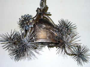 WS Pine Cone Chandelier