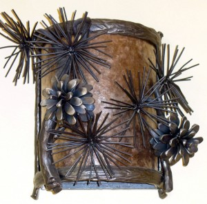 WS Pine Cone Sconce (a)