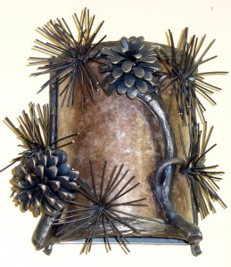 WS Pine Cone Sconce (b)