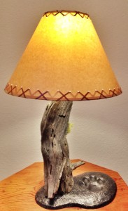 Lamp - Faux Shade