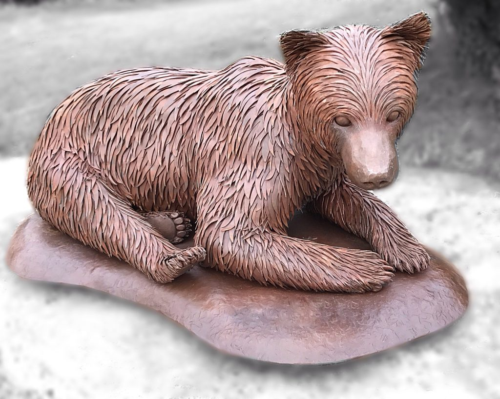 Grizzly Cub -Dimension: 21″ Wide x 34″ Long x 16″ Tall